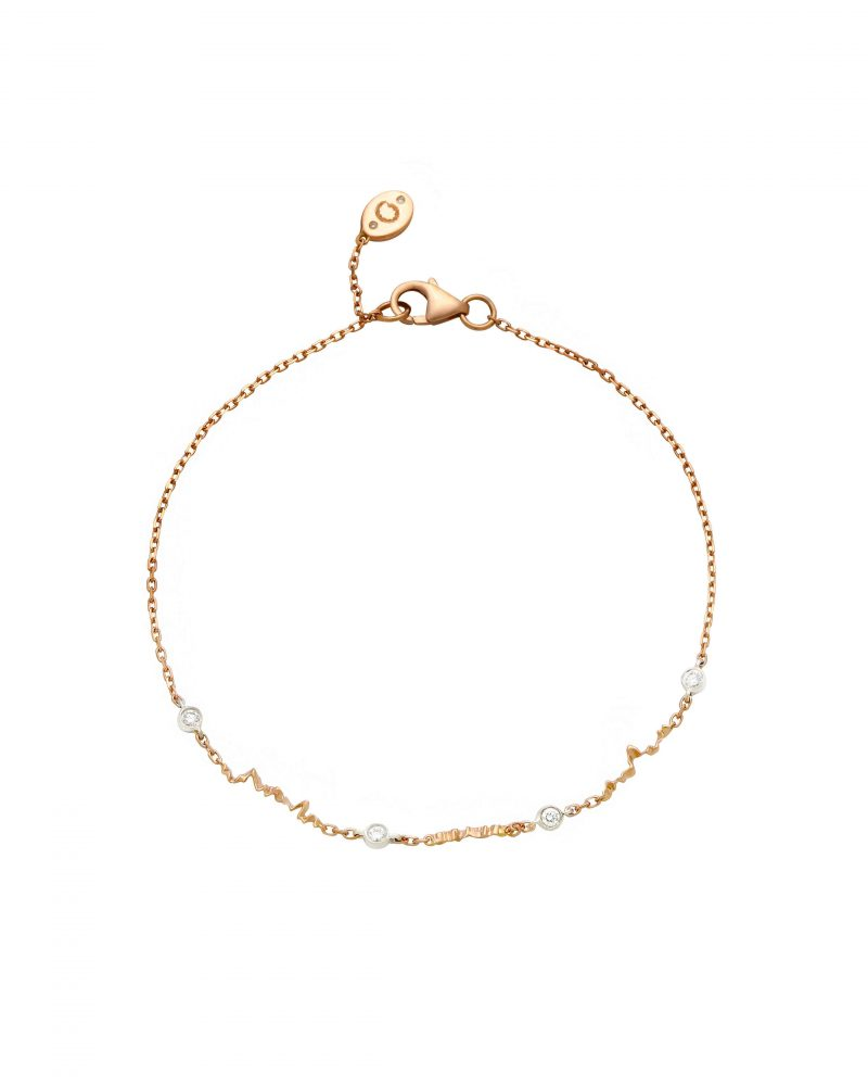 Petite Gold Trim Bracelet