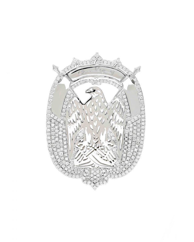 Abu Dhabi Emblem Diamonds
