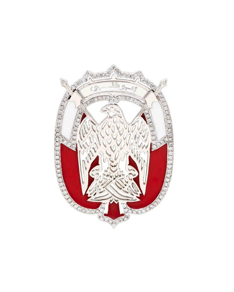 Abu Dhabi Emblem Enamel
