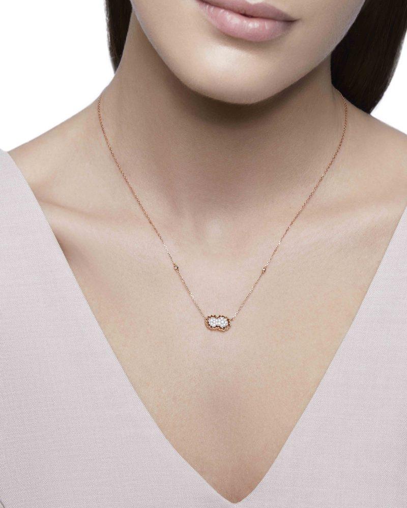 Diamond Cluster Petite Pendant