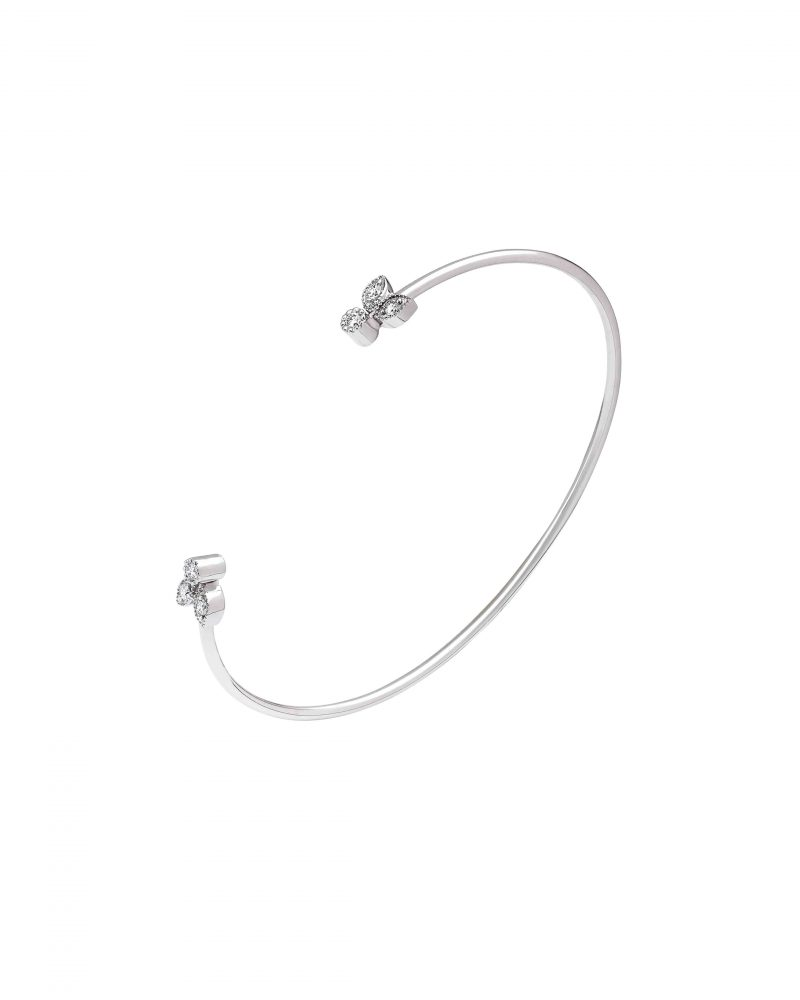 Diptych Leaves Bangle