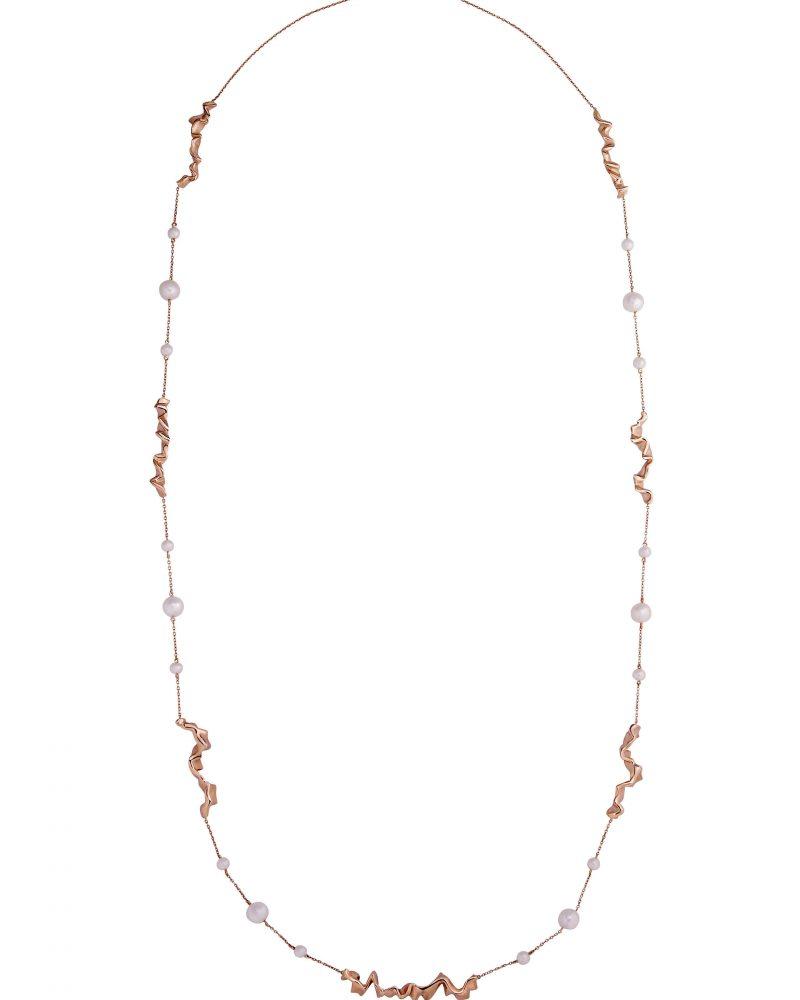 Gold Trim Necklace