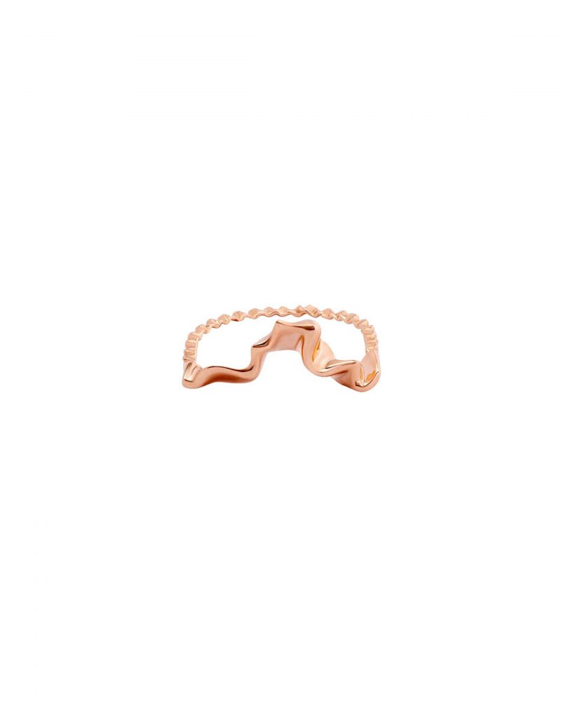 Gold Trim Ring