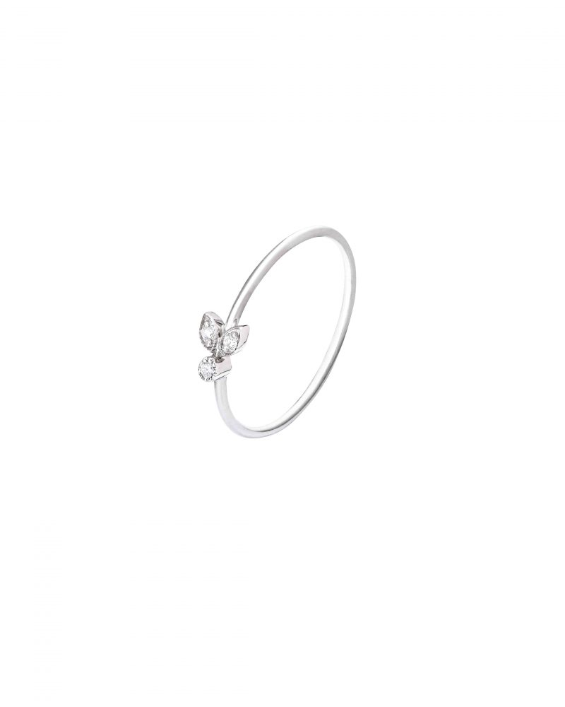 Small Leaves Ring