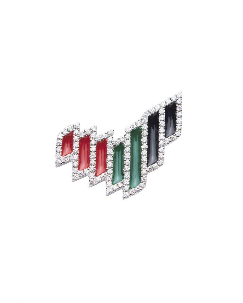 UAE Brand Pin Colored