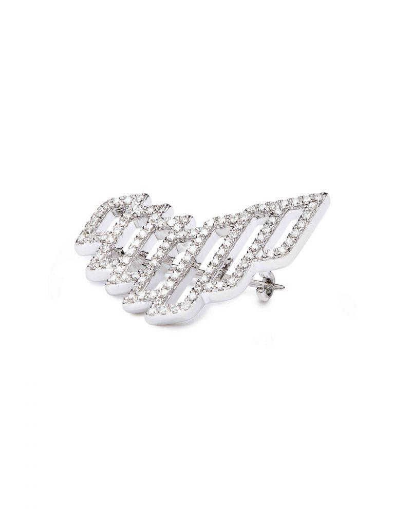 UAE Brand Pin Diamonds