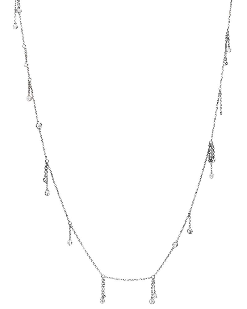 Dangling Diamonds Necklace
