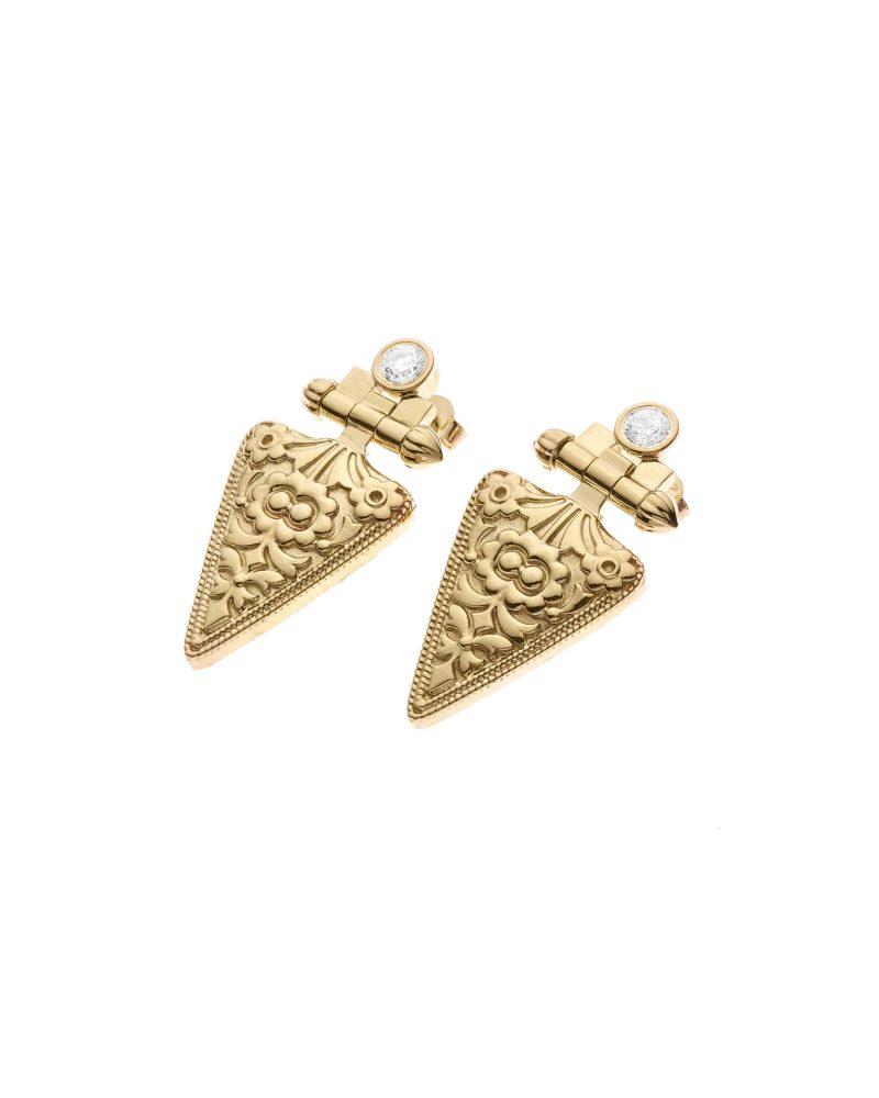 Ingrained Earrings