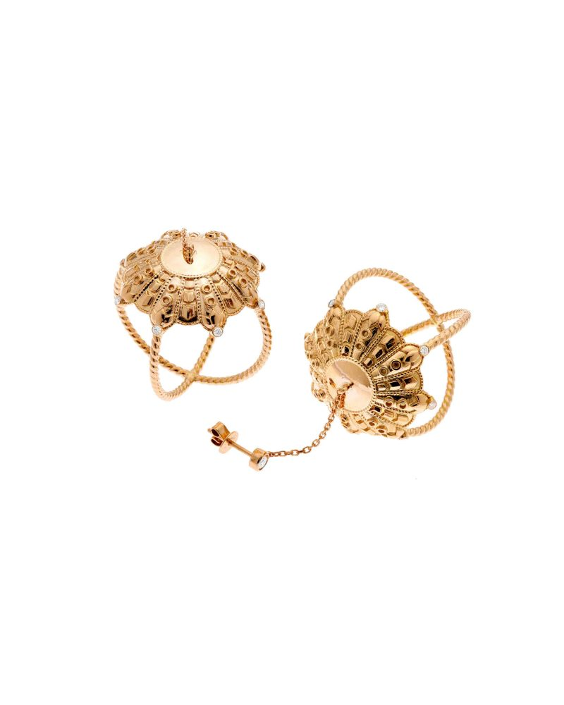 Reiterated Ropes 3D Earrings