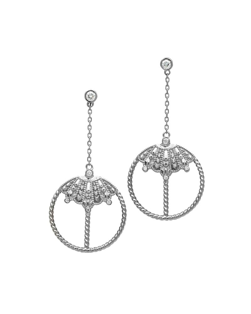 Reiterated Ropes 2D Earrings