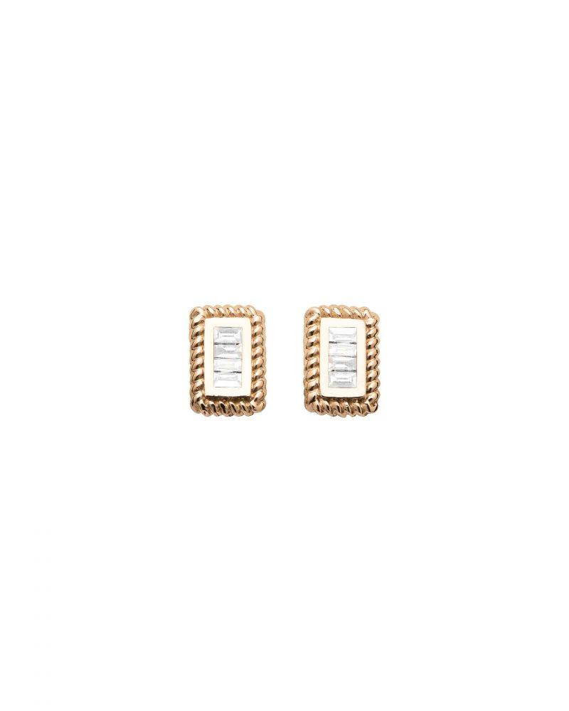 Eight Stud Earring