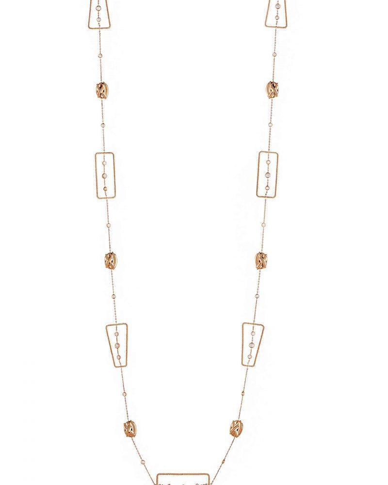 Festive Diamonds Long Necklace