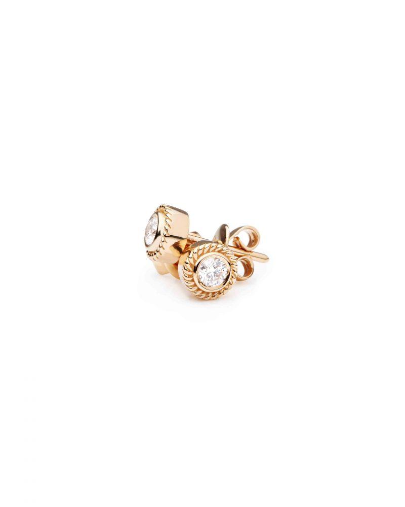 Framed Diamond Earring