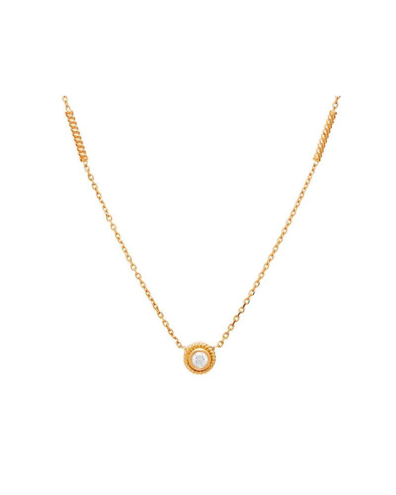 Framed Diamond Necklace